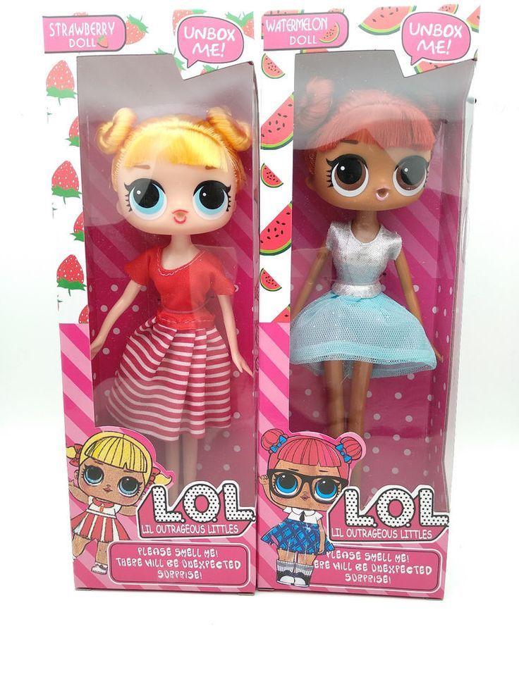 1pc Kids Xmas Toys LOL LIL Outrageous Littles Surprise Barbie Doll
