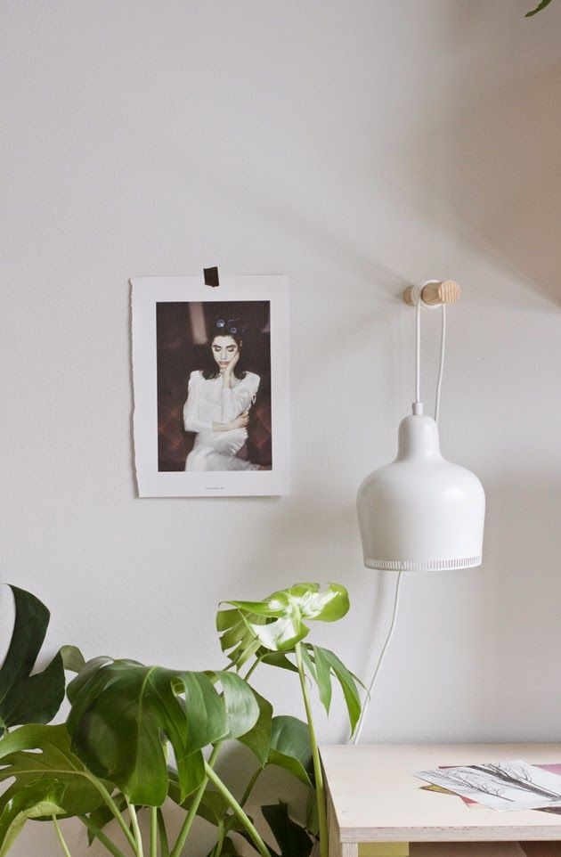 White interior inspiration | From Finnish blog Mundadaa (By Anna Pirkola)