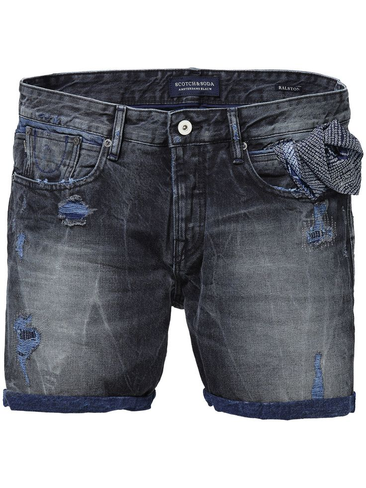 Ralston Plus short - Summer Rock|Denim Shorts|Men Clothing at Scotch & Soda