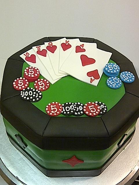 Poker Cake 2012
