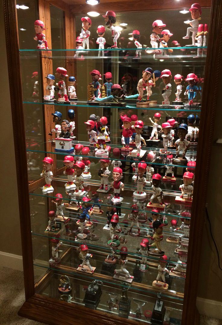 Saint Louis Cardinals Bobblehead collection.