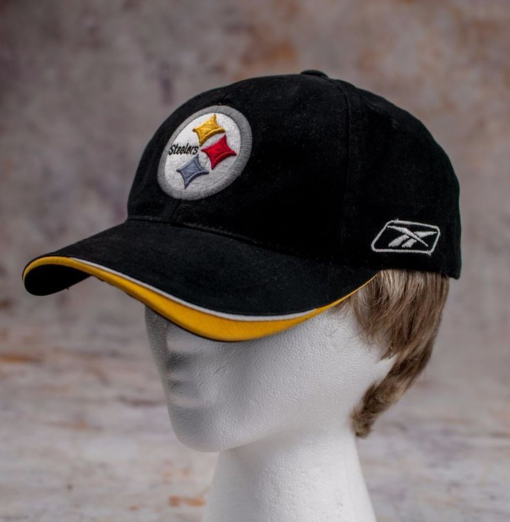 NFL cap PITTSBURGH STEELERS hat REEBOK adjustable  #Reebok #PittsburghSteelers