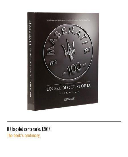 Marchio Maserati - Il libro del centenario 2014