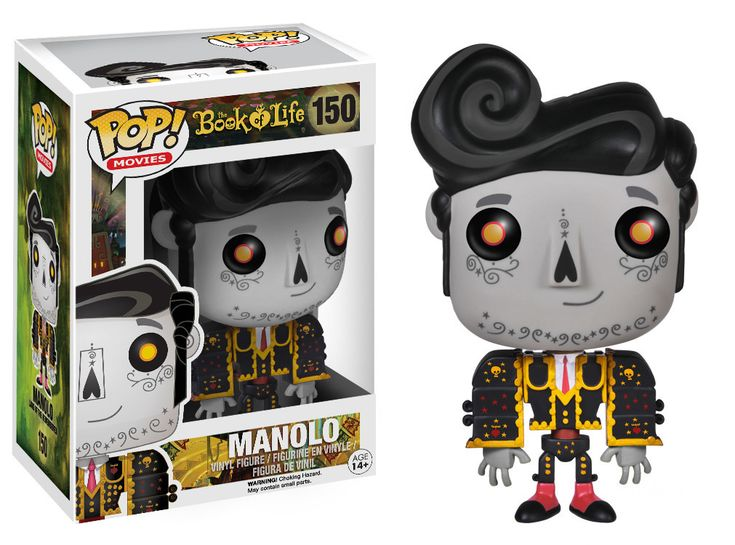 Funko Pop! Vinyl- The Book of Life 150- Manolo (Remembered)
