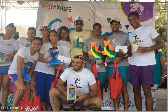 Así cerró la primera jornada de la válida de voleibol de playa en Choroní - http://www.leanoticias.com/2014/03/03/asi-cerro-la-primera-jornada-de-la-valida-de-voleibol-de-playa-en-choroni/