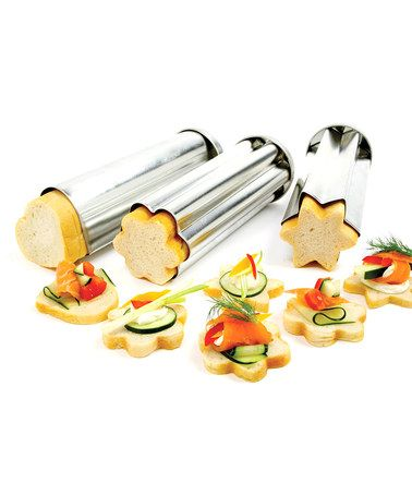 Take a look at this Norpro Canape Bread Mold Set by Christmas Around the World Collection on @zulily today!