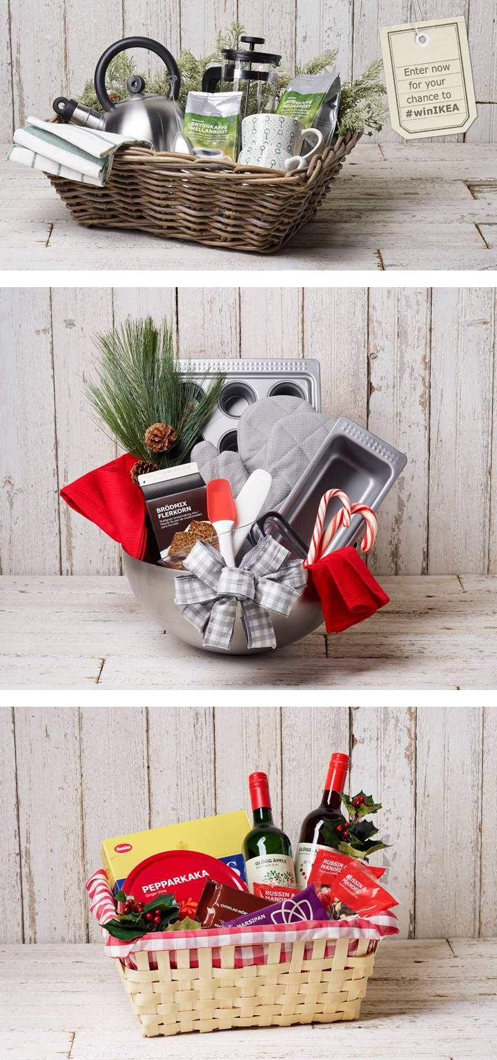 Stumped on the perfect gift to give for the holidays? Enter to win an IKEA gift basket that best matches someone special in your life! www.ikea-usa.com/win