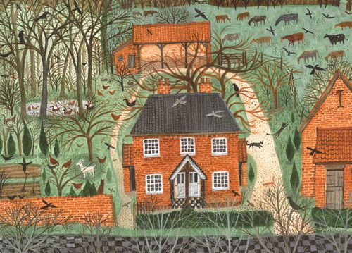 Farm Cottages | Green Pebble -- Dee Nickerson
