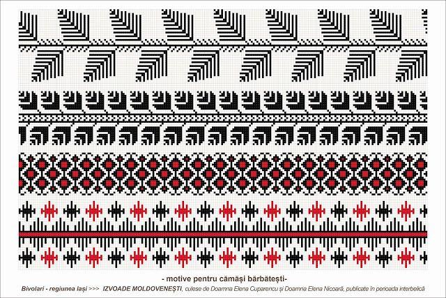 Semne Cusute: romanian traditional motifs - MOLDOVA - Iasi, Bivo...