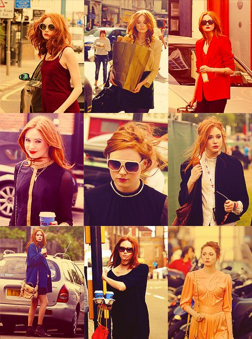 Karen Gillian, a fantastic spread of the many ways to wear her hair style