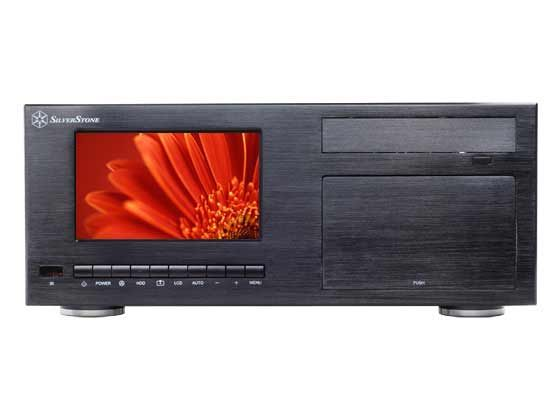 "SilverStone Technology Co., Ltd.- #CW03, HTPC case w/ 7"" Display & Remote = $ @ http://www.silverstonetek.com/product.php?pid=161"