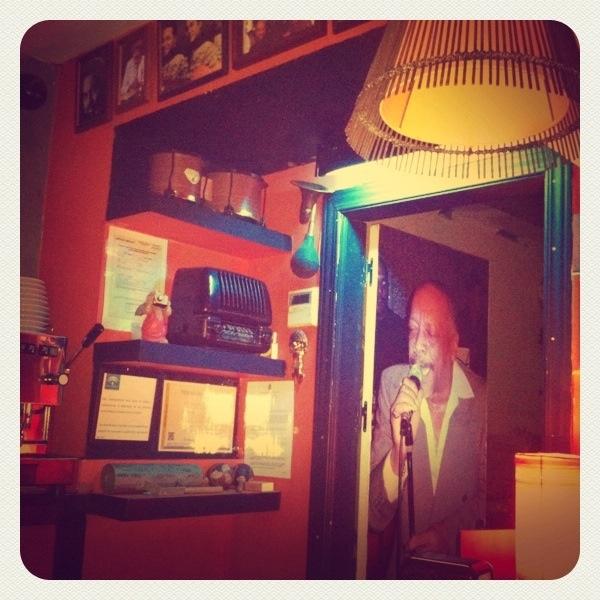 latin bar in Granada, Spain