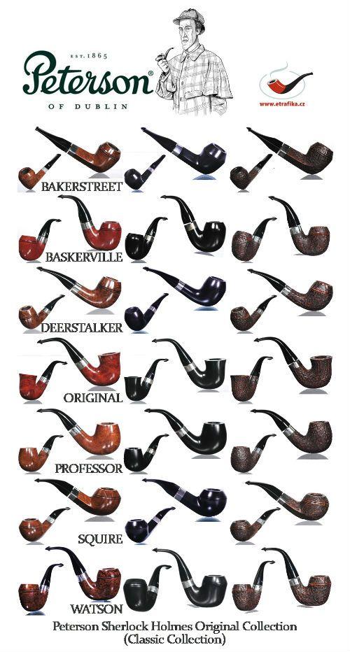 Dýmky Peterson Sherlock Holmes Original Collection (Classic Collection) Peterson Sherlock Holmes Original Collection pipes (Classic Collection)