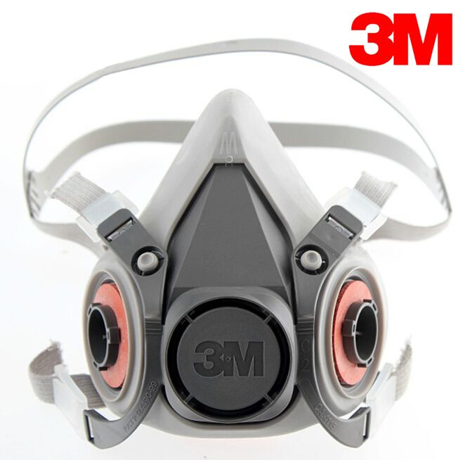 3M 6300 Reusable Half Face Mask Respirator low-maintenance simple to handle and extremely lightweight 3M mask Face Gas Mask
