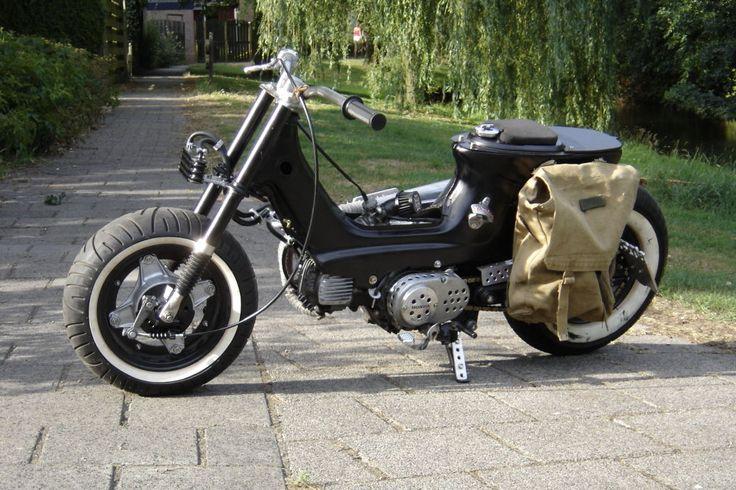 Honda Chaly bobber
