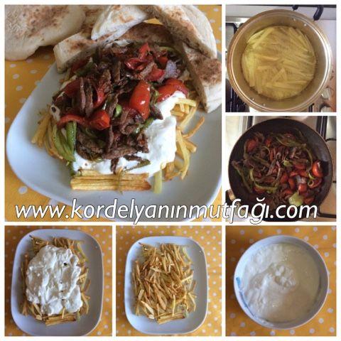 Kordelyanın mutfağı: ÇÖKERTME KEBABI