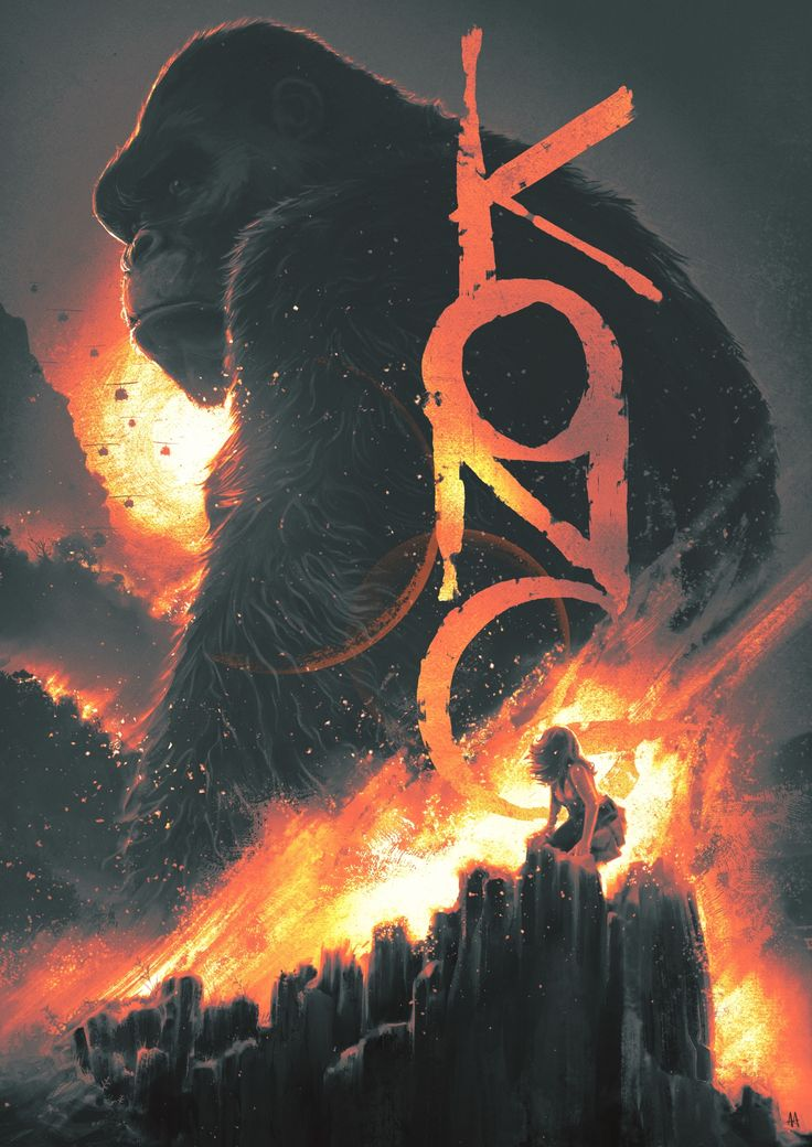 King Kong - Skull Island - Adan Arellano ----
