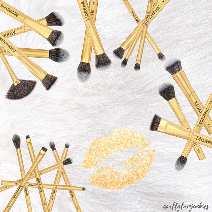 Morphe Brushes Gilded Collection Make-Up Pinsel Deutschland