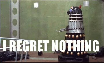 Doctor Who. No but this gif literally shows me after a trip