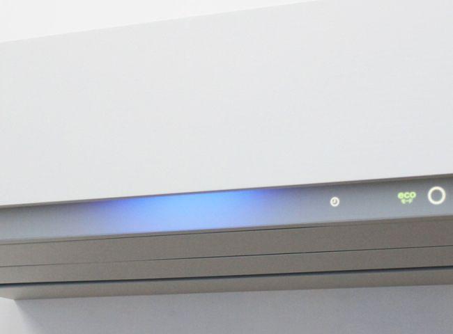 【エアコンディショナー SDRシリーズ】広い部屋にも対応する優れた空清能力。空気の清浄度を間接光の色の変化でやさしくお知らせします。 http://www.toshiba.co.jp/living/air_conditioners/pickup/sdr/