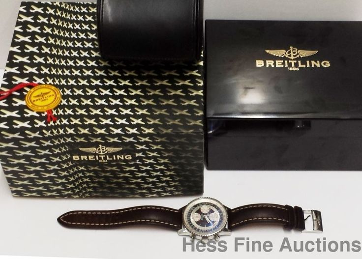 Desirable A21330 Day Date Chronograph Breitling Montbrillant Watch Box  #Breitling