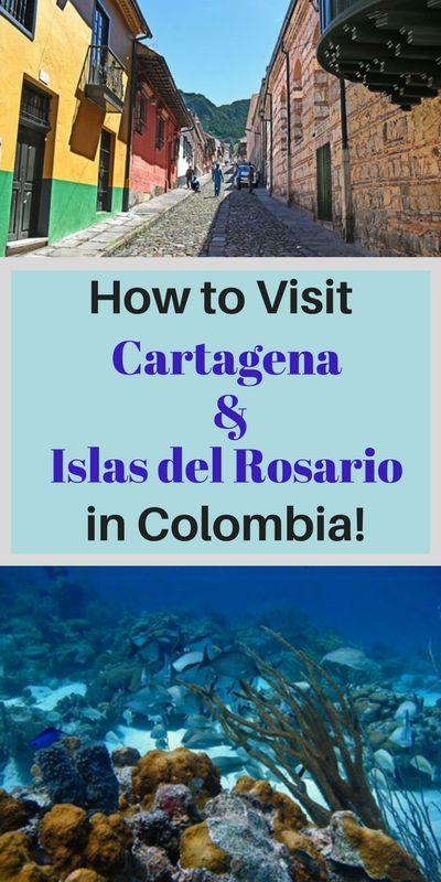 Cartagena and Islas del Rosario are great destinations in Colombia!