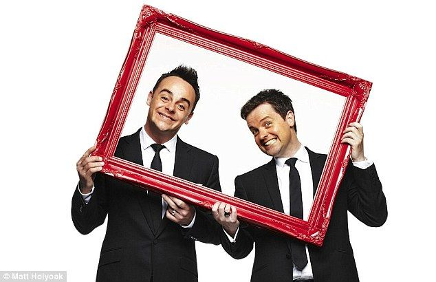 The framed Ant and Dec! I can tell them apart!