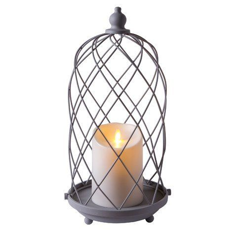 Luminara® Outdoor Bird Cage Lantern with Candle - 15 in – The Flameless Candle Shop