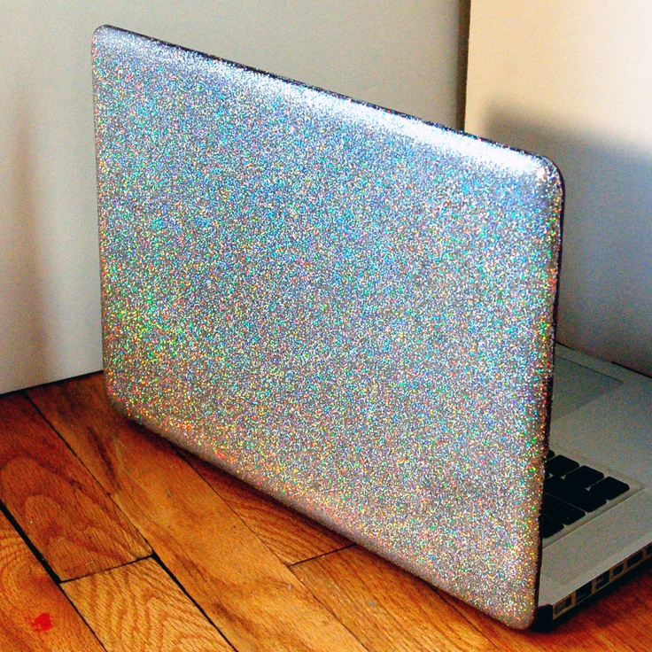 Glitter Laptop Case DIY | DIY | Pinterest