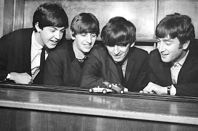 Beatles and Scalextric
