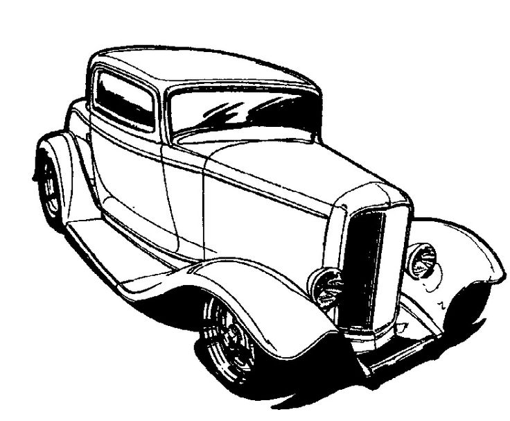 Prd80 in addition 1932 Ford Frame Assembly 3437 moreover 162458499730 further Vintage Hot Rod Clip Art moreover Automotive Art Drawings. on 1932 ford roadster street rod