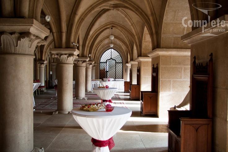 Svadobná hostina - Stĺpová sieň Zámok Bojnice, Bojnice Castle, Slovakia #bojnicecastle #bojnice #museum #muzeum #slovensko #slovakia #history #castle #wedding #love #romantic #svadba #svadbanazamku