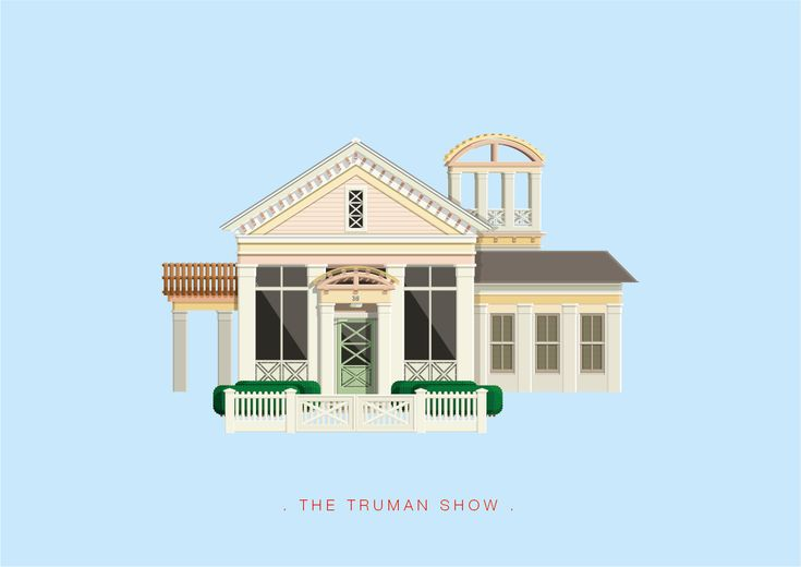 Frederico Birchal, The Truman Show, Famous Movies & TV Shows Setting, 2015
