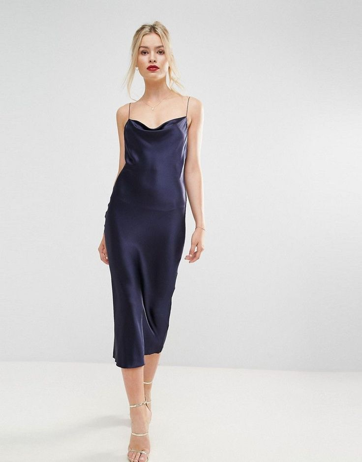navy blue midi dress australia