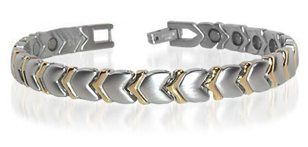 New Stainless Steel Hearts Magnetic Golf Bracelet 7.5 inch Gem Avenue. Save 57 Off!. $19.99