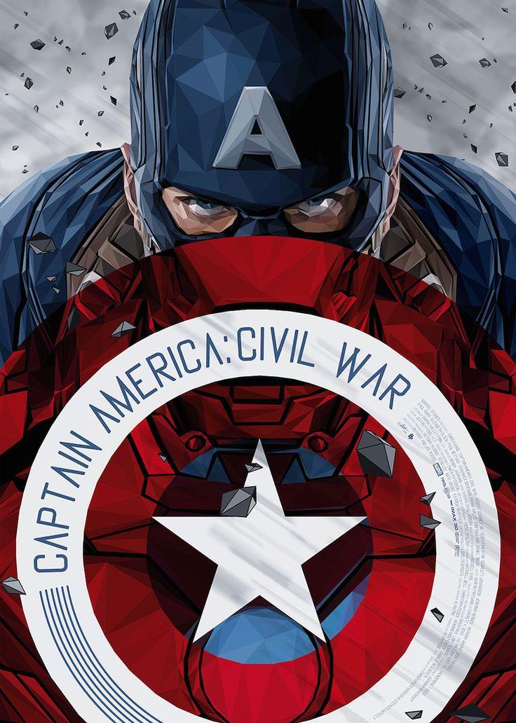Captain America: Civil War by Various Artists • Simon Delart • Sharm Murugiah • Chris Malbon • Kaz Oomori • Thomas Walker • Daniel Nash • The Dark Inker • Ben Mcleod