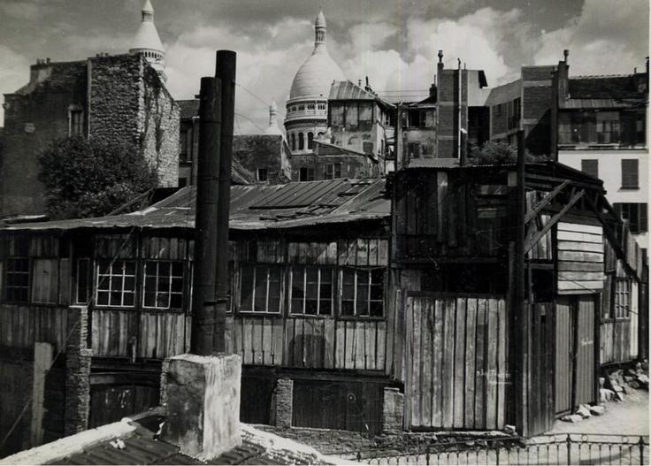 Montmartre 1950's