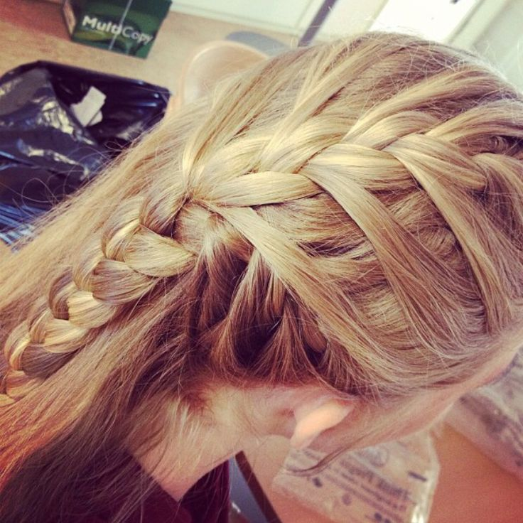 A double double braid made by Alina