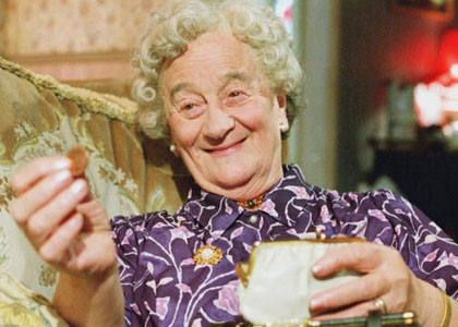 BAFTA winning British actress Liz Smith did not become a professional actress until the age of 50
