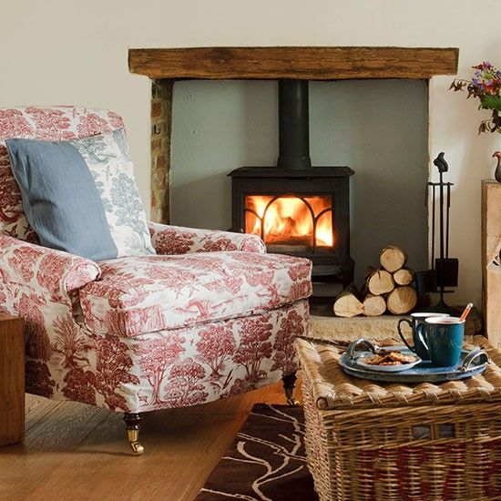 Winter Decorating Country Cottage Living Style Homes Rooms