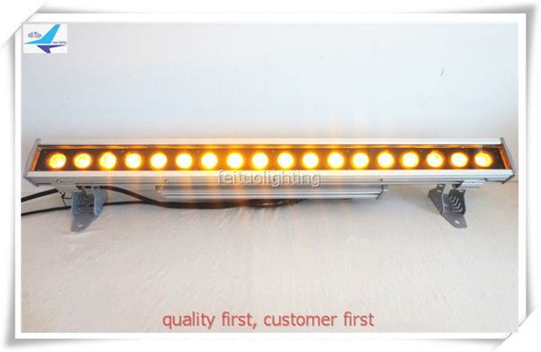 Spotlight stage lighting led wall washer light dmx 18pcs 18w decorative wall lights led wall washer rgbwa uv 6in1 #Affiliate