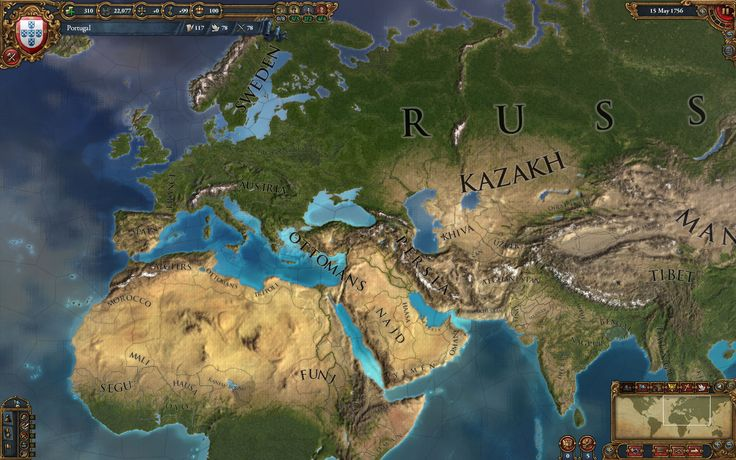 Image result for Europa Universalis IV map