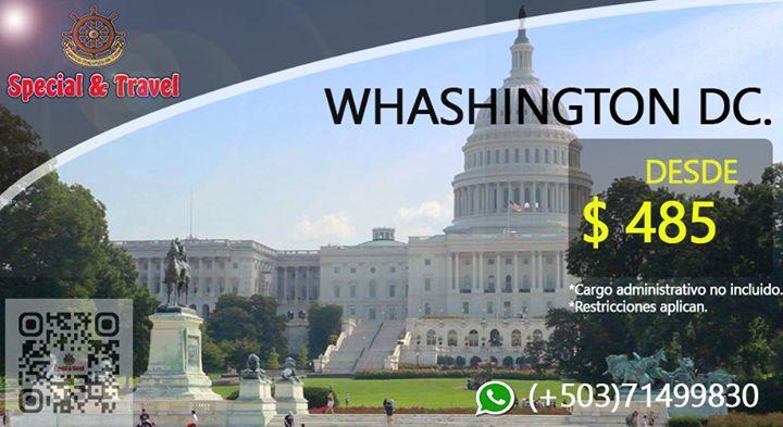 #Tarifas y #promociones  #viajes #directos a #LosAngeles #Whashington #Panama!! WhatsApp  71499830 Tel  2211-3903 / 02  ventaspecialtravel@gmail.com #tw...