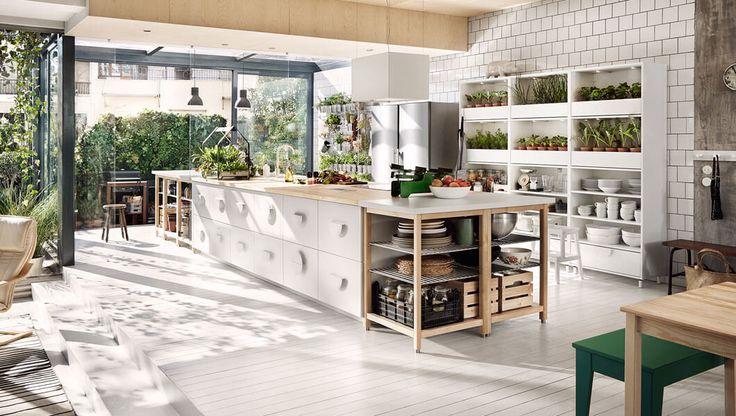 36 best keukeninspiratie 2 ikea haarlem images on pinterest kitchen ikea and kitchen ideas - Ikea outdoor kitchen cabinets ...