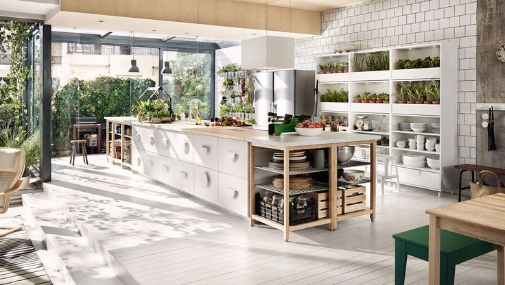 Oltre 25 fantastiche idee su cucina ikea su pinterest - Isola cucina ikea ...