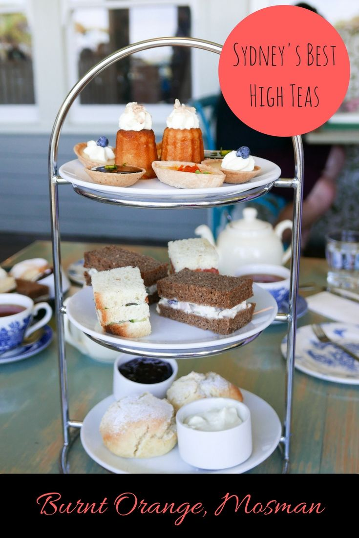Burnt Orange, Mosman: Sydney's Best High Teas