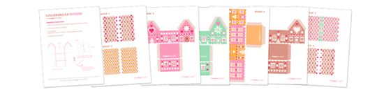 Happythought papercraft gift box set: Over 30 gift box template ideas
