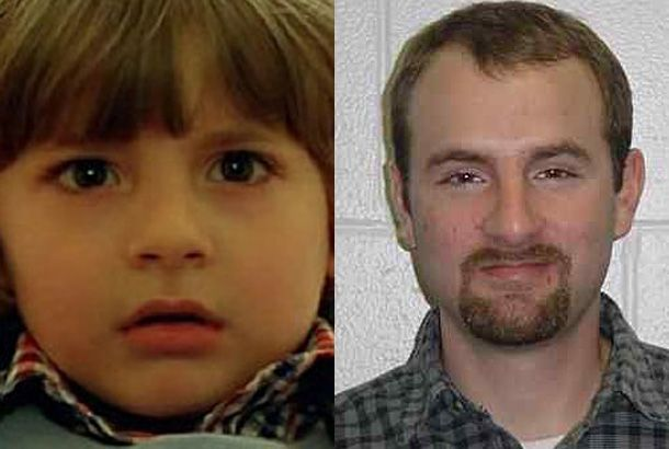 Danny Lloyd as Danny in 1980's The Shining and Danny Lloyd in 2012. Now You know.