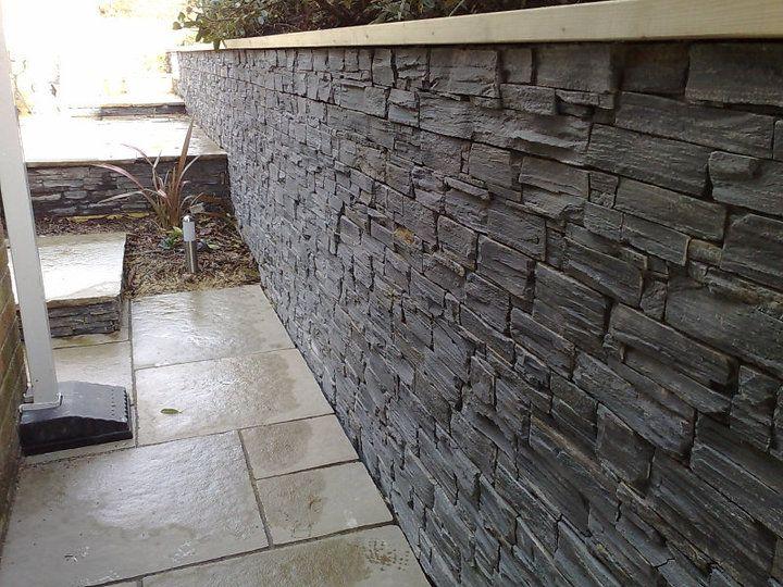 TIER® Black Slate Retaining Wall.....