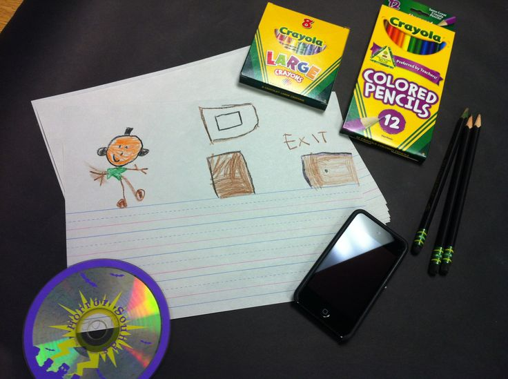 Play a recording of scary sound effects during writing time.